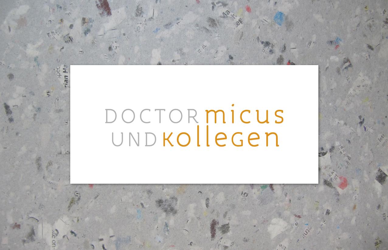 doctor micus, logo