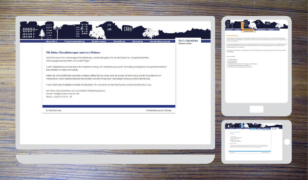 website, wohnservices